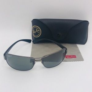 Ray-Ban RB3379 Polarized Sunglasses & Case
